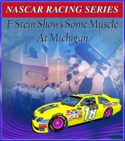Frankie Stein wins the Pure Michigan 400 by Dorothy64116
