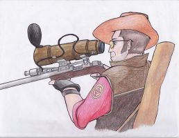 TF2 Sniper by sunnyballoonface