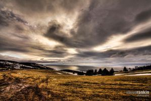 Mountain Road Atlantic View by steverankin