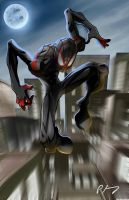 Miles Morales - Spider-Man  by 2Raw4life