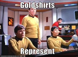 Star Trek: Goldshirts by JudiHyuga