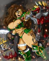 SAVAGE SAILOR JUPITER by ShoNuff44