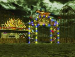 Circus background by indigodeep