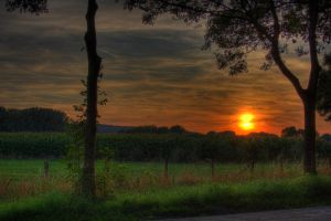 Sunset HDR by Misterooo