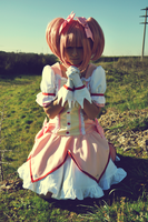 Madoka, pray by LaurelinAureo