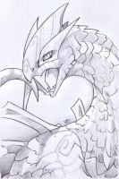 Request: Realistic Lugia by VinVagia