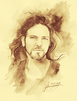 eddie vedder by salva-door