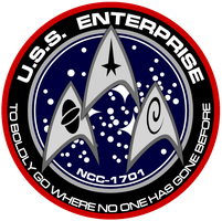 New USS Enterprise Insignia by viperaviator