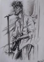Paolo Nutini charcoal ,2014 by UniiqueTouch