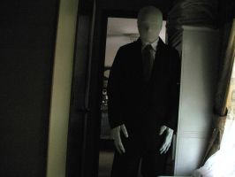 Slenderman Costume with new gloves by Rising-Darkness-Cos