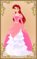 Ariel big pink dress by monsterhighlover3