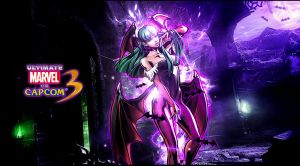 Ultimate marvel vs capcom 3 Morrigan Wallpaper by KaboXx