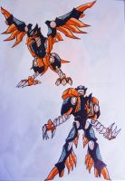 PE DOUBLE DYNASTY step1: kung-fu eaglezord by kishiaku