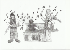 Music Time by shadow-recon-666