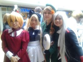 some girls of hetalia by LenaleeExorcist