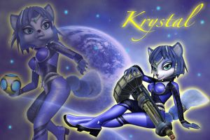 Krystal Wallpaper 2 by Dublinfox