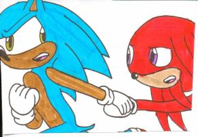 'Hurry, Knuckles' by cmara