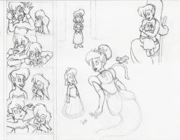 Sketches for GracefulTatiana1897 by AsjJohnson