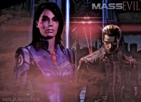 Ashley and Wesker by MrJuniorer