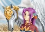 Pegasus and Tactician by dtownley1