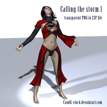 3D-Female001 by CandG-stock