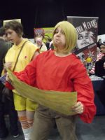 MCM Expo '11- Srs Bsns Miguel by donnatron