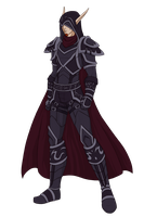 Baelfire Bloodseeker- Colored Commission by Paraspriteful