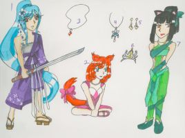 Random adotpable set(5/7 SOLD) by Azure-wolf96