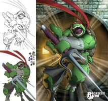 TMNT Rafael (2014) by RecklessHero