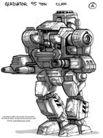 MechWarrior Fail: Gladiator by Mecha-Zone
