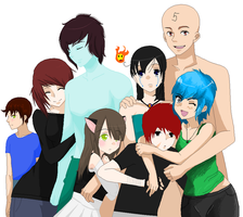 .:A happy Family:. -OPEN Collab- by Allyza-Awesome123