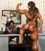 Married to Muscle_ The Study Aid by MichelleLeRainbow