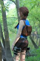 Look Out - Lara Croft by AmuletofHorus