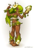 "Sadida for the game ""Wakfu"" by xa-xa-xa"