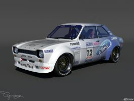 Ford Escort by cipriany