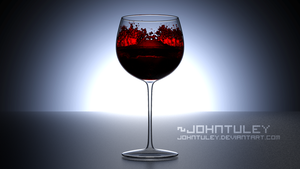 Blender - Wine Glass by JohnTuley