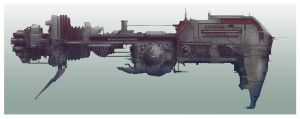 AGATHA mother ship by lordrhino15