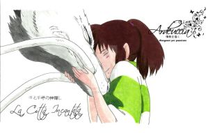 Chihiro and Haku - Spirited Away by Ardeuccia92