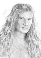 Dave Mustaine XI by AnastasiumArt