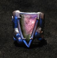 Watermelon Tourmaline Ring by Sothoth