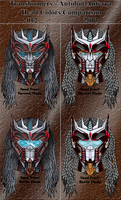 Anterra head color comparison by Leathurkatt-TFTiggy