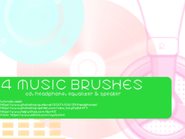 Music Brushes by Track-7