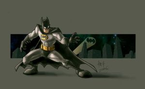 TYs Batman by dcjosh