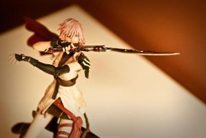 FINAL FANTASY XIII Play Arts 4 by Phoenix001