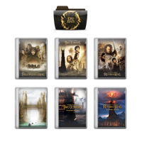 The Lord of the Rings Trilogy - Plastic Case Cover by Epsilon99