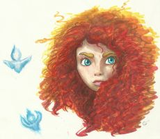 Merida of Dunbroch by silvermoon822