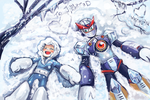 Rockman Secret Santa 2012 by whitmoon