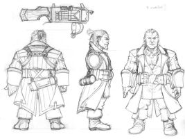 Varric from DA2 by Ignifero