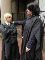 Snape and Draco by Catchmewithyourlips