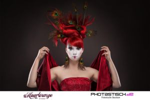 red hair by normanpaeth